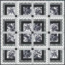 172 best black & white w/ any color images on Pinterest   DIY ... & Savoy Quilt Pattern · Black And White ... Adamdwight.com