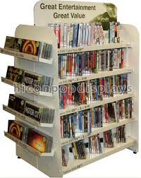 Retail Book Display Stands 100Way White Retail Cd Display Stands Freestanding For Book Store 2