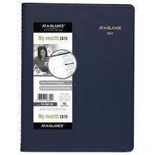 At A Glance Monthly Planner 2019 Aag7026020 At A Glance Monthly Planner Ebay