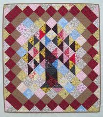 284 best Leaves and Trees Quilts images on Pinterest | Fall ... & Tree of Life Quilt, Traditional Quilt, Wall Hanging, Retro, Folk Art, Adamdwight.com