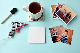 how to make easy diy photo coasters