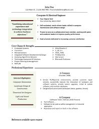 Free Resume Template Mac Computer Skills Professional Experience