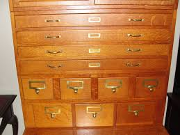 Antique Drawer Cabinet Buying Useless Antique Furniture Globe Wernicke Card Catalog