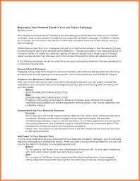 Resume With Branding Statement 24 Resume Branding Statement Example Statement Synonym 6