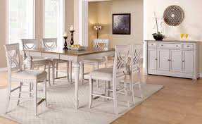 emerald brighton counter height dove gray dining collection furniture and interior design