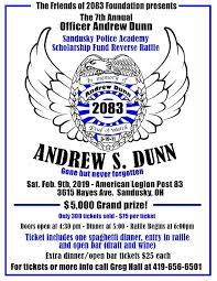Reverse Raffle Rules Officer Andrew Dunn Police Academy Raffle Wmjk