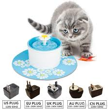 2018 automatic pet feeder green flower cat dog electric fountain for cats bowl drinking water dispenser drink dish filter from molotok 4021 dhgate automatic water bowl for cats24