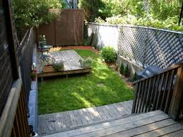 exterior: Astonishing Wooden Deck Which Is Applied At Patio Designed Using  Cool Backyard Ideas And