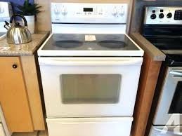 kenmore glass top stoves glass top stove for in classifieds and in sears