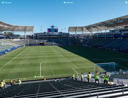 Dignity Health Sports Park Section 123 Seat Views Seatgeek