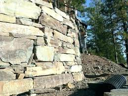 building a rock wall curved rock wall natural stacked stone wall building rock wall curved retaining