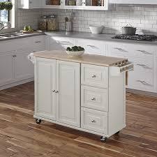 kitchen island cart white. White Kitchen Island Cart L