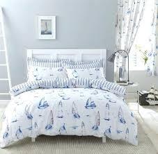 nautical king size bedding nautical boats stripes blue cotton blend king size duvet cover nautical king size bedding