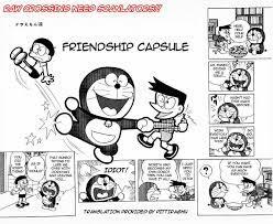 Doraemon] - 61 - Friendship Capsule | English Manga Kid in 2021 | Doraemon,  Comics in english, Doraemon comics
