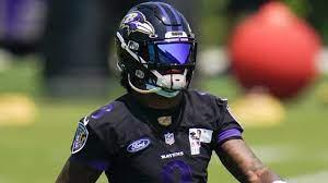 Ravens QB Lamar Jackson not practicing ...
