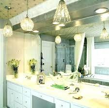 mini pendant lights for bathroom lighting fixtures bathroom vanity mirror with lights appealing hanging bathroom light