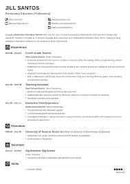 Write the perfect teacher resume skills and job description. Teacher Resume Examples 2021 Templates Skills Tips