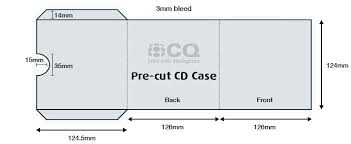 Cd Case Template Photoshop Cd Case Template