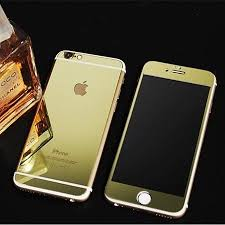 dr vaku apple iphone 6 6s reflective 0 3mm 9h hardness electroplated mirror tempered glass screen protector
