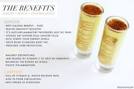 fashionlush benefits of ginger wellness shots