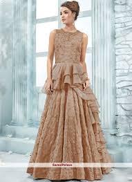 Cheap Designer Gowns Online Art Silk Designer Gown