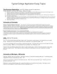 common app essay topics essay prompts