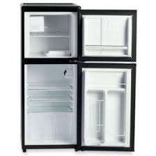 refrigerator with ice maker. the only compact refrigerator with ice maker \u2013 hammacher schlemmer