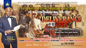 deliverance of the feet the shadow of the almighty prayer deliverance of the feet