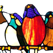 birds on a wire stained glass birds on a wire style stained glass window panel birds