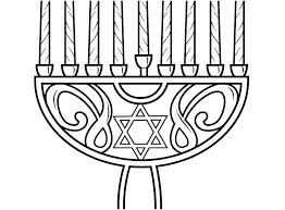 Hanukkah Coloring Pictures Chanukah Coloring Sheets Pages Design