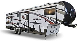 tesla toy hauler fifth wheel series m 3212 specs