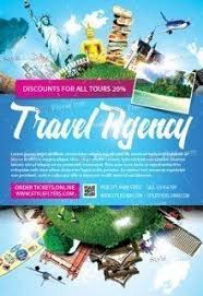 Tour Travel Psd Flyer Template Free Download 8245 Styleflyers