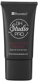 bh cosmetics studio pro foundation primer