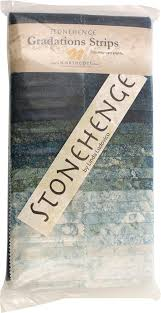 Stonehenge Designs Cards Stonehenge Gradations Blue Planet Stone Strips 40 2 5 Inch Strips Jelly Roll Northcott