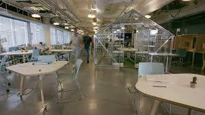 trendy office. 4K Time Lapse Of Busy Creative Business Team Working Hard In Trendy Office
