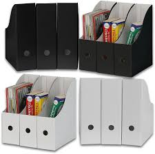 File holder box Magazine Amazoncom Simple Houseware Whiteblack Magazine File Holder Organizer Box pack Of 12 Home Kitchen Amazoncom Amazoncom Simple Houseware Whiteblack Magazine File Holder