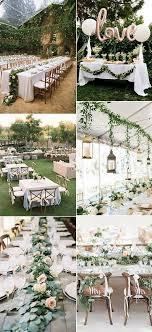 garden wedding table decoration ideas