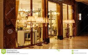 Show Window Lighting Luxury Lighting Shop Window Stock Image Image Of Asia