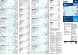 Imray Chart 100 Imray Nautical Chart Imray 100side2 North Atlantic Ocean Passage Chart Reverse Side