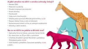 Dětský Den S úsměvem Již Popáté V Zoo Brno Novinkycz