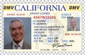 Driver's Santini Clipart Free Dominic Uihere Driving Png Cliparts License California Drivers