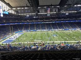 Ford Field Section 206 Detroit Lions Rateyourseats Com