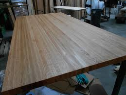 prefinished red oak butcher block countertop