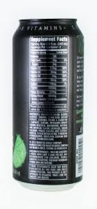 monster can nutrition facts. Wonderful Nutrition Although Top Monster Competitor Red Bull Uses A Nutrition Facts  To Can BevNETcom