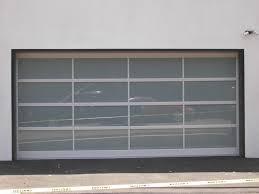 glass panel garage doors