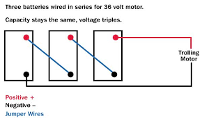 wiring diagram for 36 volt www crappie101 com 36 volt trolling motor wiring diagram at 24 Volt Trolling Motor Battery Wiring