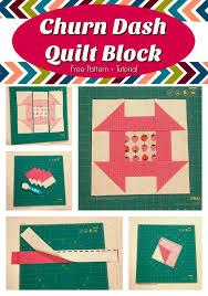 Churn Dash Quilt Block - Sew Much Moore & Churn Dash Quilt Block - Pinterest Pin 2 Adamdwight.com
