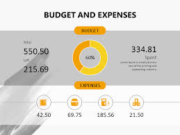 Budget And Expenses Powerpoint Slide Personalfinance