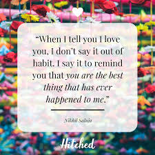 37 Of The Most Romantic I Love You Quotes Hitchedcouk