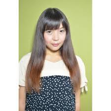 ロングストレート Hair Squallヘアスコールのヘアスタイル 美容院